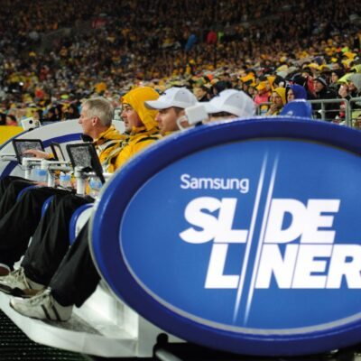 Samsung SlideLiner experiential marketing activation from creative agency S1T2.