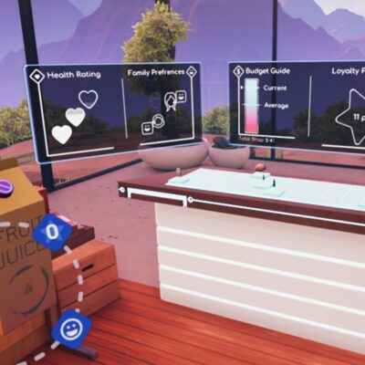 Adobe Future of Retail virtual reality data visualisation by creative agency S1T2.
