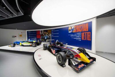 Macau Grand Prix Museum interactive exhibition from creative technology studio S1T2.