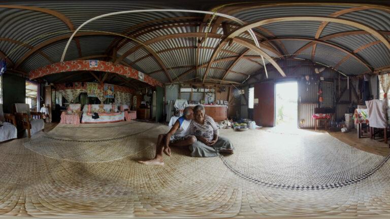 360 virtual reality shot in Namarai Fiji for COP23.