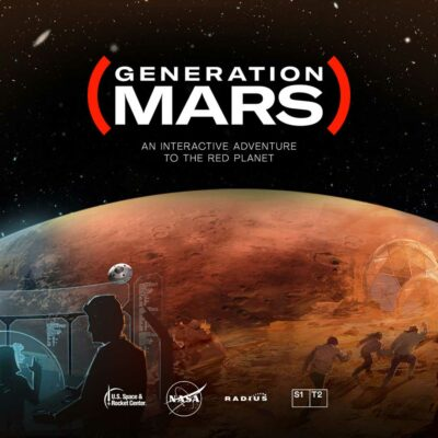 Generation Mars, interactive exhibition from creative technology studio S1T2.