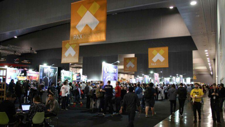 Crowds at PAX Australia in 2016.
