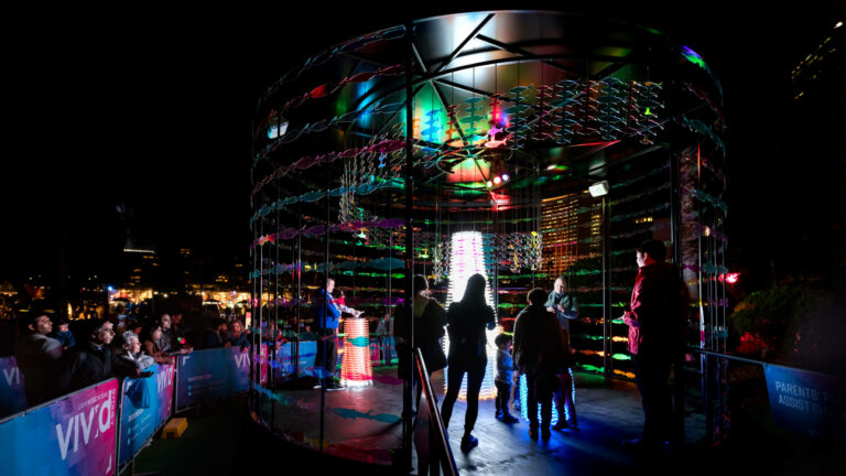 Revive The Reef Tackles Climate Change at Vivid Sydney