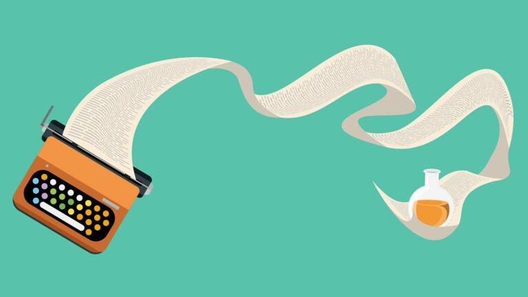 Creative Animation of Typewriter.