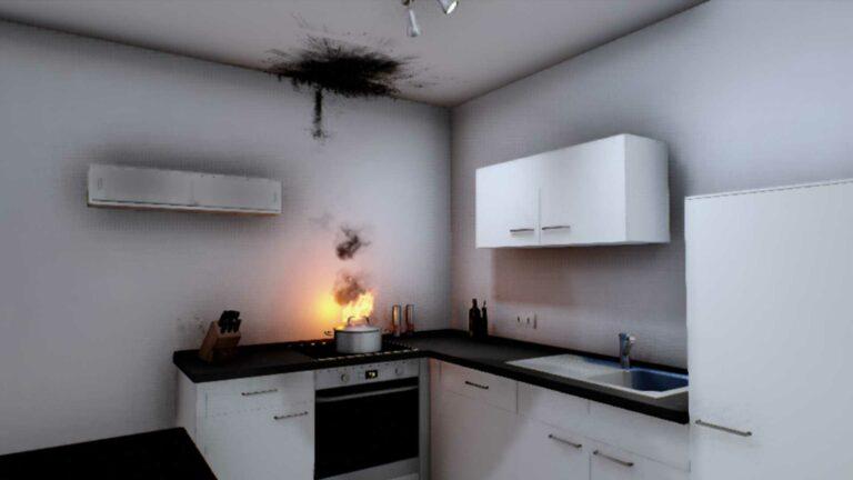 Screenshot from Terri Scheer virtual reality experience.
