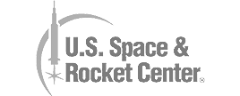 US space centre banner.
