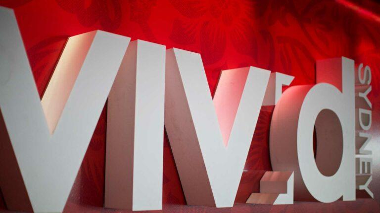 Vivid Ideas event logo.