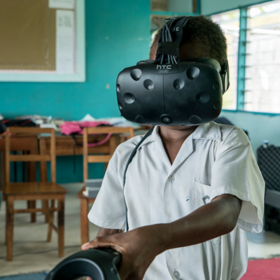 Beyond the Stars health education program with virtual reality by creative agency S1T2.