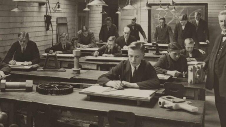 Old Vintage Classroom.