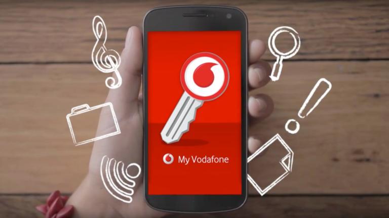 Vodafone Smartphone Animation App.